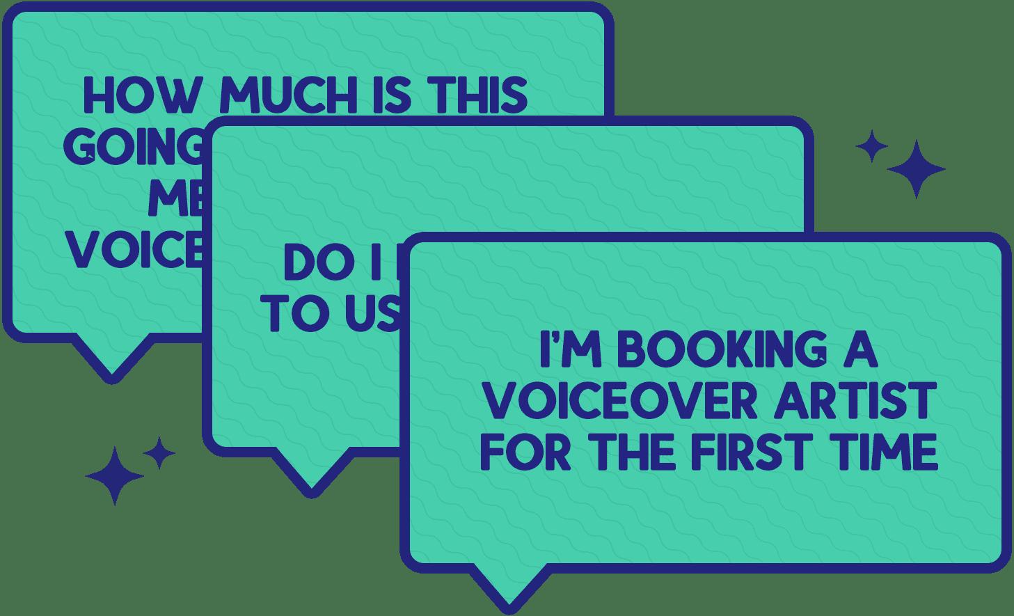 booking a voiceover artist